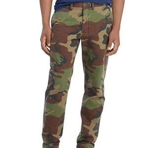 Polo Men's Camouflage Classic Fit Pants NEW